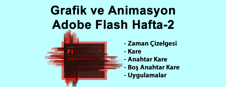 Grafik ve Animasyon Adobe Flash Hafta-2