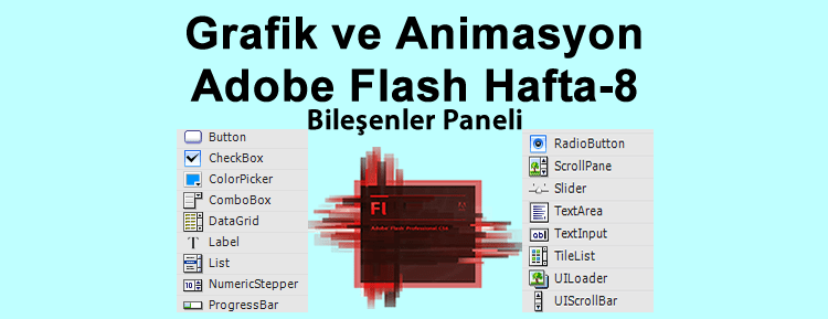 Grafik ve Animasyon Adobe Flash Hafta-8