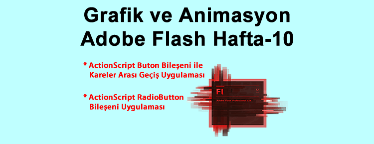 Grafik ve Animasyon Adobe Flash Hafta-10