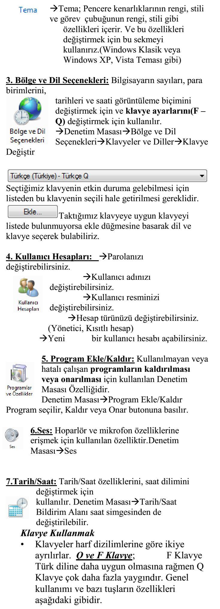 Bilgi ve İletişim Teknolojileri Dersi Ders Notu 1_6