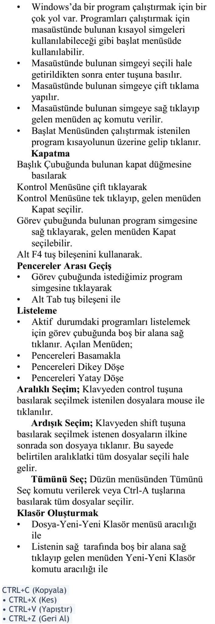 Bilgi ve İletişim Teknolojileri Dersi Ders Notu 1_8