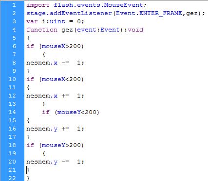 Düzensiz yazılmış kodlar